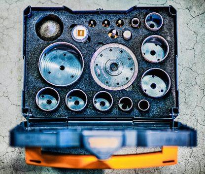 Tebo Timanttireikäsahasarja Iso + T-LOC II laatikko