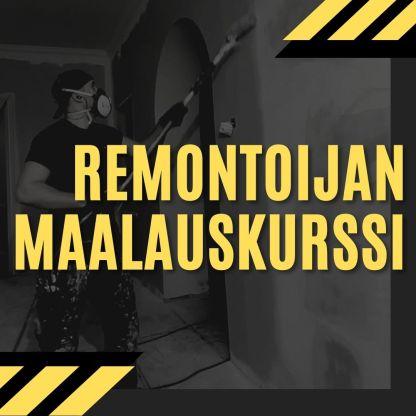 Reno Academy - Remontoijan Maalauskurssi